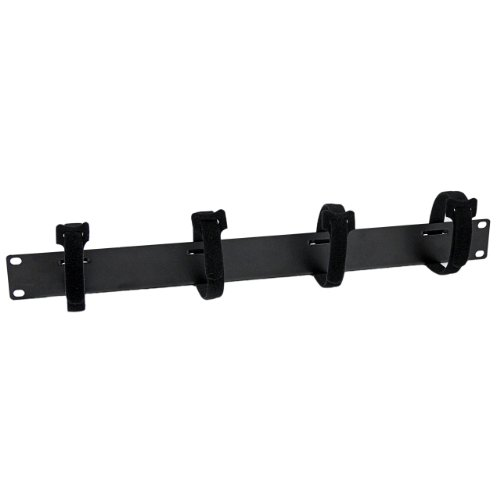 Side Panels Loop - StarTech.com Cable Management Panel with Hook and Loop Strips for Server Racks - 4-Loop Cable Organizer - 1U