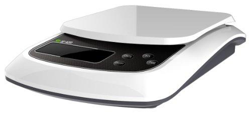 SlimWise 10kgx0.5g Digital Food Diet Kitchen Scale, Postal, Office, 22lbs Capacity ()