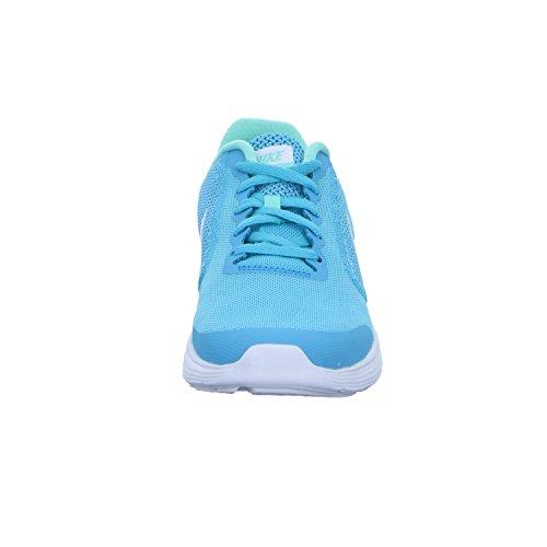 gs Nike Base Tytöt Kengät Urheilullinen Pitsi 819416 405 Sininen Vallankumous 2 up XOrvOE