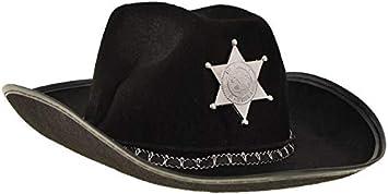 BSD Disfraz para Niños - Disfraz Infantil - Sombrero de Sheriff ...