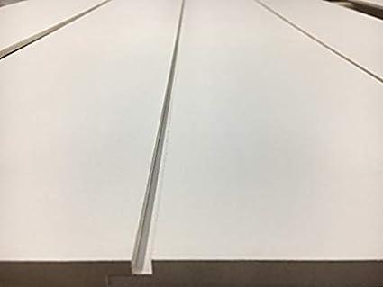 Timeline Skinnylap: Primed Shiplap + Real Wall Paneling