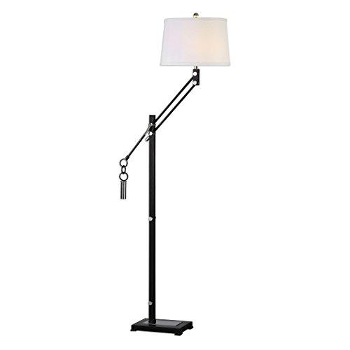 Modern Retro Industrial Adjustable Arm Floor Lamp  