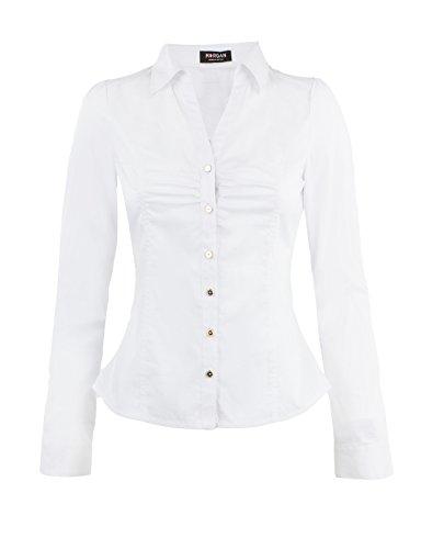 Morgan 152-caram.n - Camisa Mujer Blanc