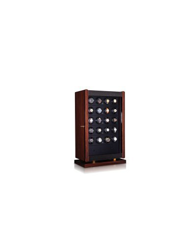 - Orbita Avanti 24 Module Watch Winder Case In Macassar Wood Veneer