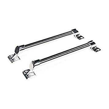 Pack of 2 Perrycraft GH-S12-S 12 Stainless Steel Sport Style Grab Handle,