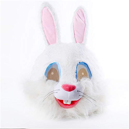 Easter Plush Bugs Rabbit Animal Head Mask Halloween