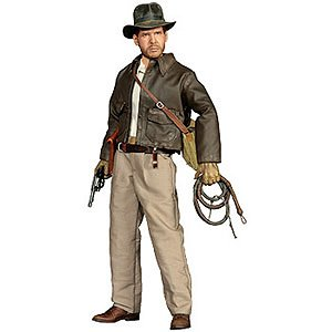 Sideshow Collectibles 12 Inch Action Figure Indiana Jones Raiders of the Lost Ark