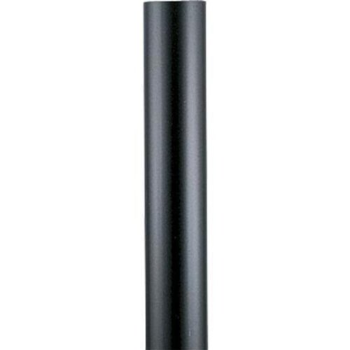 Progress Lighting P5394-31 Black Steel Aluminum Post, (Post Lights Progress Lighting)