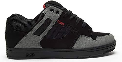 DVS Men's Enduro 125 Skate Shoe,black charcoal red new black,11 Medium US