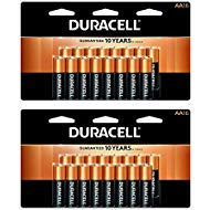 CopperTop AA Alkaline Batteries - Long Lasting, All-Purpose Double A Battery for Household and Business - 16 Count (2 Pack) by Duracell
