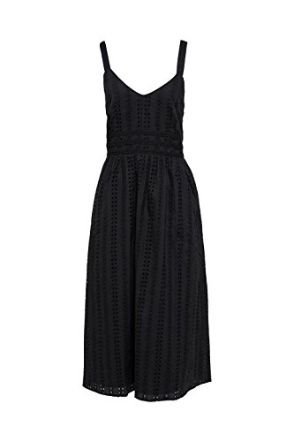 Black ESPRIT Kleid 001 Damen Schwarz qtTczw0T