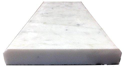 Vogue Tile White Carrara Marble Threshold (Marble Saddle) - Polished - (4'' x 36'') by Vogue Tile (Image #2)
