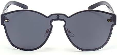 GAMT Reflective Rimless Sunglasses Fashion Vintage Eyewear for Unisex