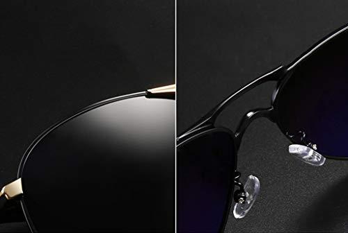 Lunettes Mode de UV Sports Soleil de Miroir Hommes Lunettes air Grenouille de polarisées la Plein F de Miroir HQCC 4S8qwdS
