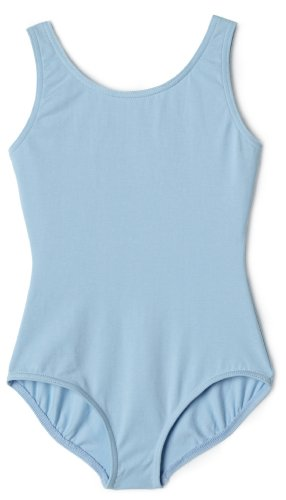 UPC 052931913621, Capezio Big Girls' High Neck Tank Leotard, Light Blue, Medium