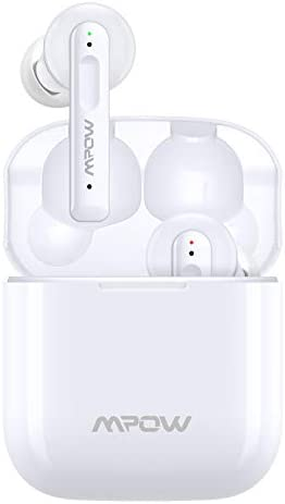 Wireless Earbuds, Upgraded Mpow X3 Hybrid Active Noise Cancelling Earbuds w/Transparency Mode, 4 Mics Noise Cancelling Earbuds w/Twin&Mono Mode, 40Hrs Earbuds w/USB-C Charge, IPX8 Waterproof