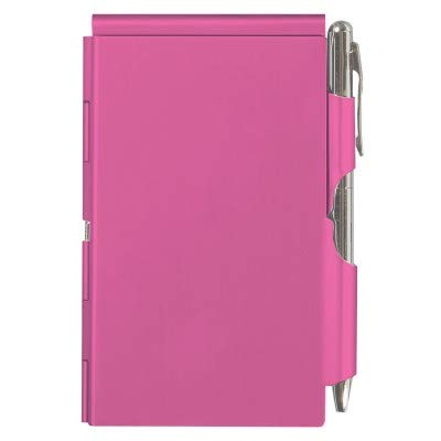 Wellspring Flip Note Notepad Set: Pink Flip Note, 3 Flip Note Refill Pads and a 3 Mini Pen Refill by Wellspring (Image #2)