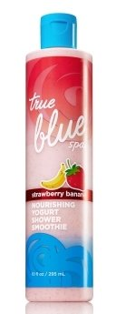 True Blue Spa Strawberry Banana Yogurt Shower Smoothie 10 Oz