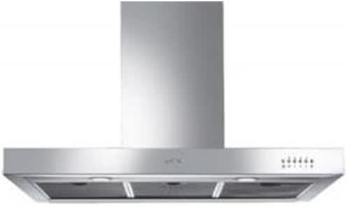 Smeg KS9500X1 De pared Acero inoxidable 500m³/h: Amazon.es: Electrónica
