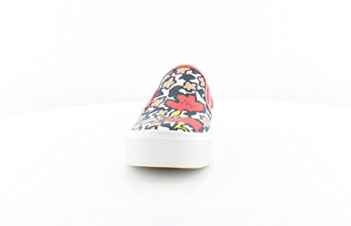 Multi Coach Fashion Cameron Floral Sneaker Canvas Frauen Chalk Coral OOqCB