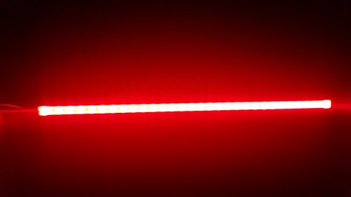 2 Pack Marine LED Strip Light 20 inch RED