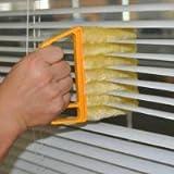 Blind & Shutter Brush Soft Flow-Thru Brush Idear For Windows, Awnings, Siding, Vinyl, And Fiberglass Cleaning, Set Of 2