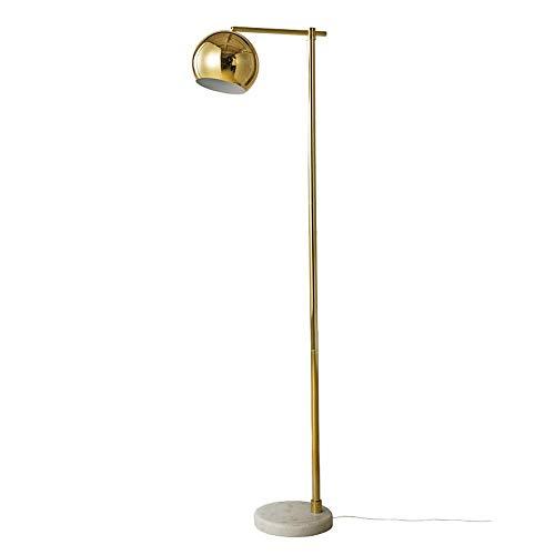 LEGELY Lámpara de pie de Metal Nano-Plateada del Estilo ...