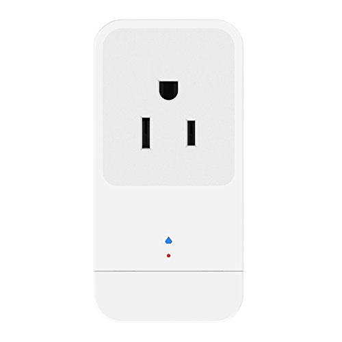 AUSXINX Wifi Plug Smart Wi-Fi Plug Mini Outlet Voice control by Smartphone or Amazon Alex or Echo from anywhere,16A,control devices by APP, No Hub Required (Plug 16a)