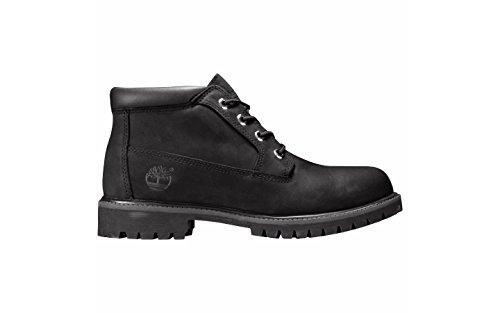 Timberland Chukka Men Work Boot (Timberland Men's AF WP Chukka Black Nubuck Boots 12)