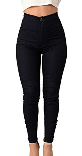 Nero Simple Fashion Moda Trousers Leggings Casual Pants Donne Lungo Strette Pantaloni Matita rBwrdxqfP