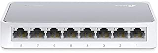 TP-Link 8 Port Fast Ethernet Switch   Desktop Ethernet Splitter   Ethernet Hub   Plug and Play   Fanless Quite   Unmanaged (TL-SF1008D) (B0034CL3MA)   Amazon price tracker / tracking, Amazon price history charts, Amazon price watches, Amazon price drop alerts