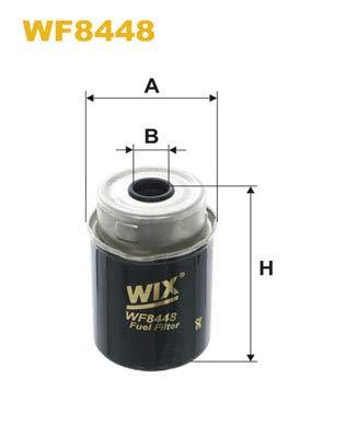 WIX FILTERS WIXFILTERS WF8448 Fuel Injectors: