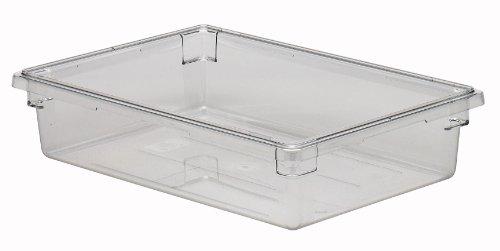 (Cambro Camwear 18266CW135 Food Box, 18 by 26 by 6-Inch, Clear)