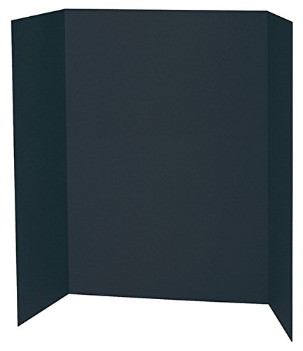 Spotlight Display Board - 48 x 36 Inches - 1 Ply Black by PACON