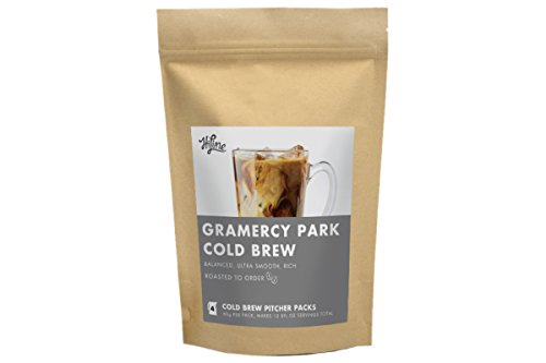 Gramercy Park Cold Brew Coffee Pitcher Packs by HiLine Coffee