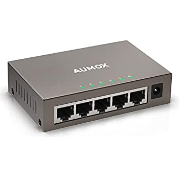 Amazon com: NETGEAR 5-Port Gigabit Ethernet Unmanaged Switch