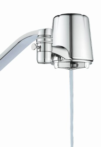 Mounted Pure Water Faucets - Culligan FM-25 Faucet Mount Filter with Advanced Water Filtration, Chrome Finish