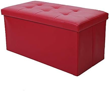 Groovy Amazon Com Folding Storage Double Cube Footrest Seat Creativecarmelina Interior Chair Design Creativecarmelinacom