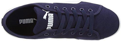 Puma Elsu CV - zapatilla deportiva de material sintético unisex azul - Blau (peacoat-white 10)