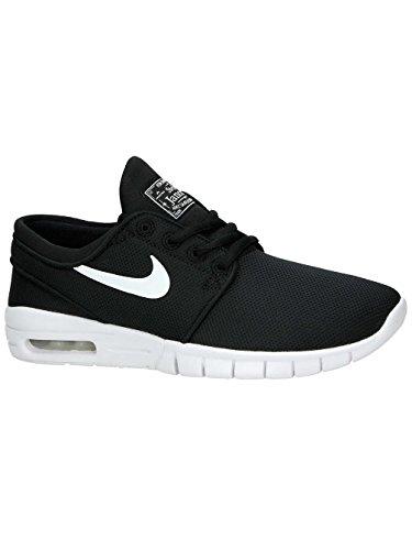 Nike Kids Stefan Janoski Max (GS) Black/White Skate Shoe 7