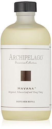 Archipelago Havana Diffuser Oil Refill,7.85 Fl - Refill Reed Diffuser Oil