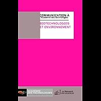 Biotechnologie et environnement (Académie des technologies)