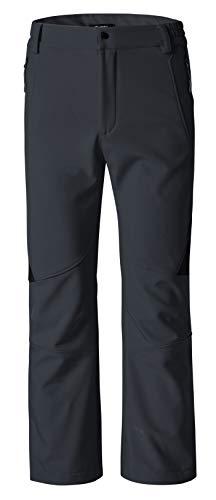 Wantdo Women's Ski Snow Insulated Fleece Softshell Windproof Pants Grey S