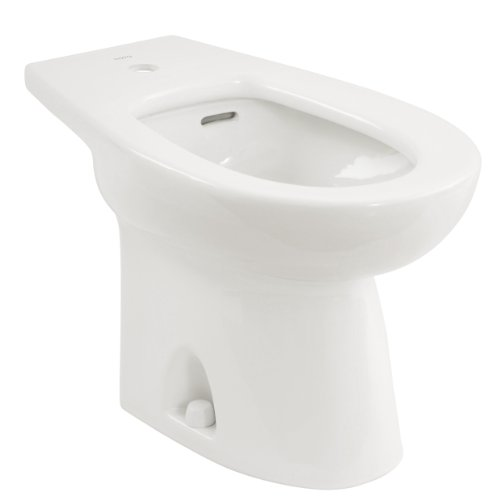 TOTO BT500AR#01 Piedmont 1-Hole Center Bidet, Cotton (Floor Mount Bidet Set)