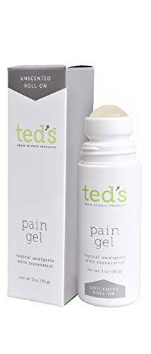Ted's Pain Gel roll-on UNSCENTED