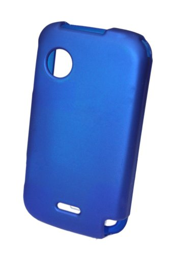 GO WC123 Snap-On Hard Shell Protective Case for Huawei M735 (Metro PCS) - 1 Pack - Retail Packaging - Blue