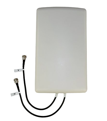 Proxicast 4G/LTE Cross-Polarized (MIMO) 7-10 dBi High-Gain Fixed-Mount Panel Antenna (Cdma Wireless Router)