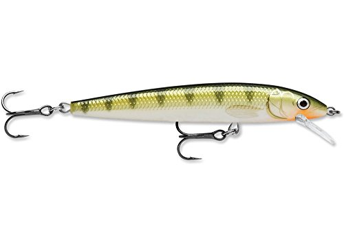 Rapala Husky Jerk 08 Fishing lure, 3.125-Inch, Yellow Perch