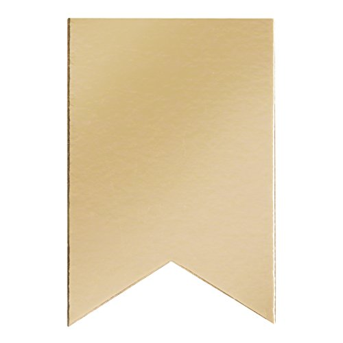 Gold Matboard (Darice Large Foil Matboard Gold Party Banners)