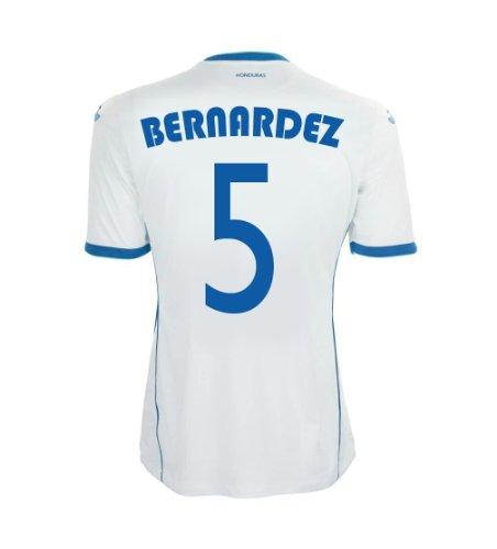 ショッピングセンター押す安いですJoma Bernandez #5 Honduras Home Jersey World Cup 2014/サッカーユニフォーム ホンジュラス代表 ホーム用 背番号5 ベルナルデス